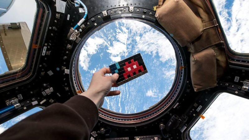 space invaders uzayda