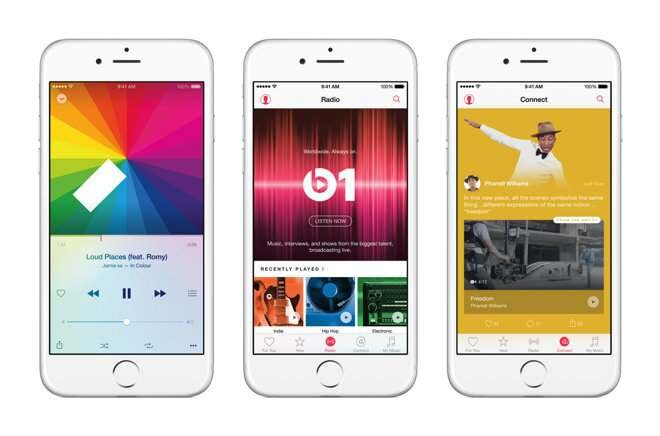 iOS 9 - Apple Music