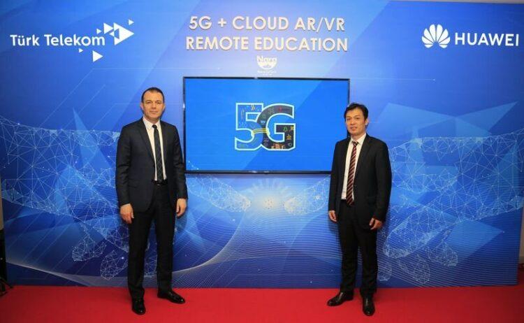 Türk Telekom'dan Yusuf Kıraç ve Huawei'den Tide Xu