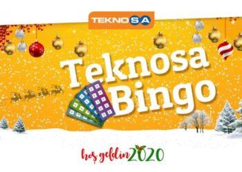 Teknosa bingo yeni yıl alışverişi
