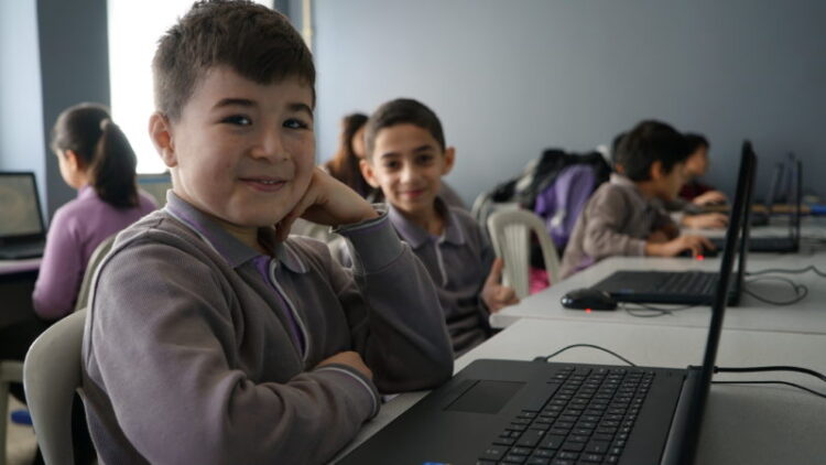 Ayşe Çarmıklı Ortaokulu'na teknoloji sınıfı