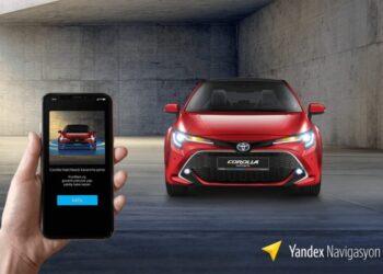 Yandex Navigasyon Toyota iş birliği