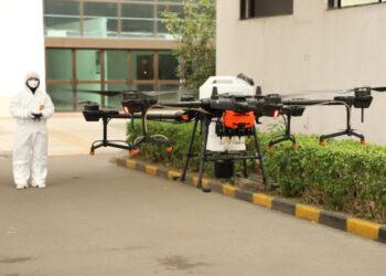 CoVid-19 drone