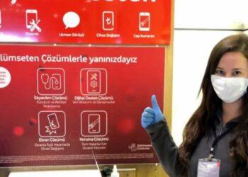 Vodafone evde telefon onarım hizmeti