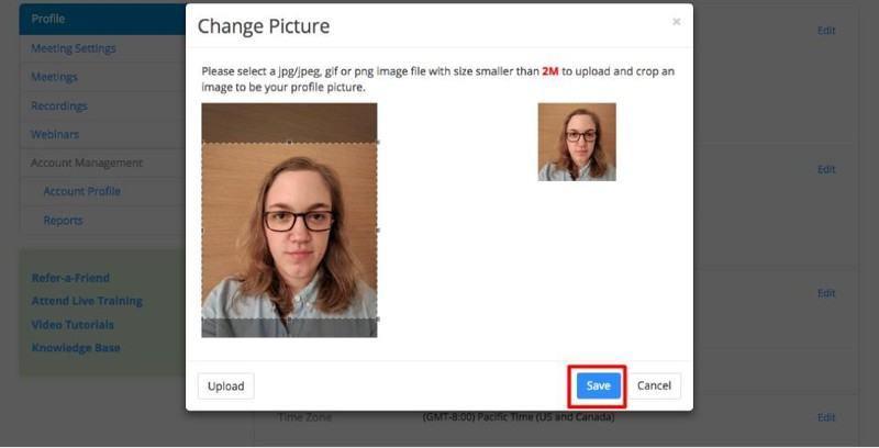 Zoom profil fotoğrafı veya resmi koyma değiştirme kaldırma rehberi nasil yapilir