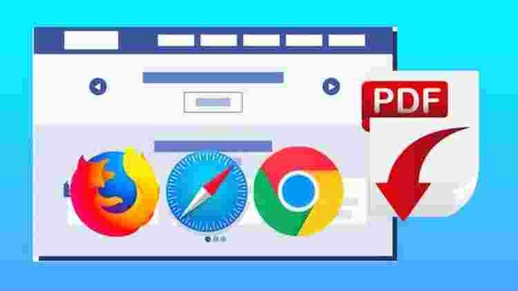 Chrome, Firefox ve Safari'de web sayfasını PDF olarak kaydetme