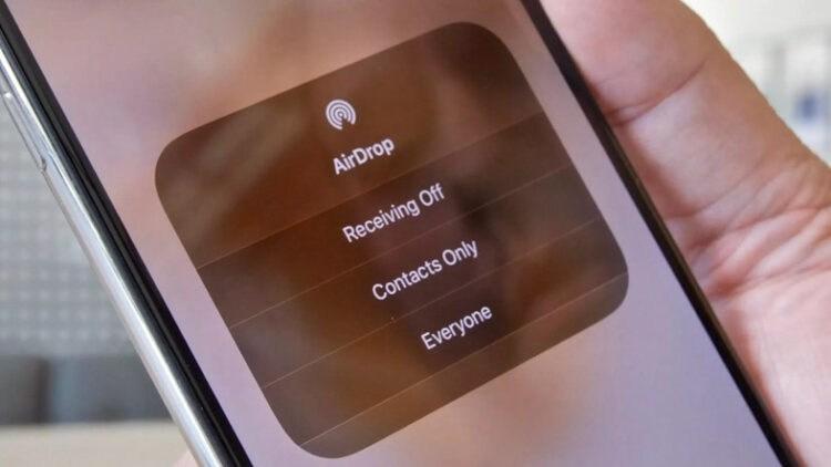 IPhone'da AirDrop'u kapatmak [Nasıl Yapılır]