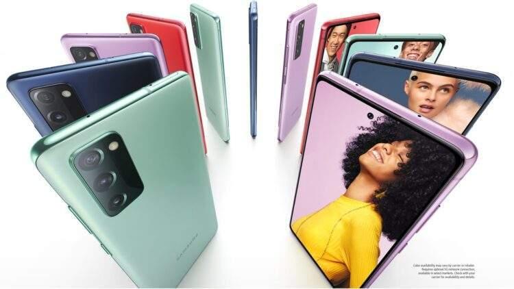 Samsung Galaxy S20 FE 5G fotoğrafları sızdı