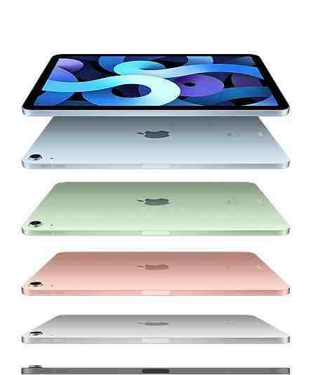 iPad Air'in çerçeveleri de kendi gibi ince