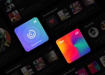 Deezer iOS14 için Songcatcher ve Flow