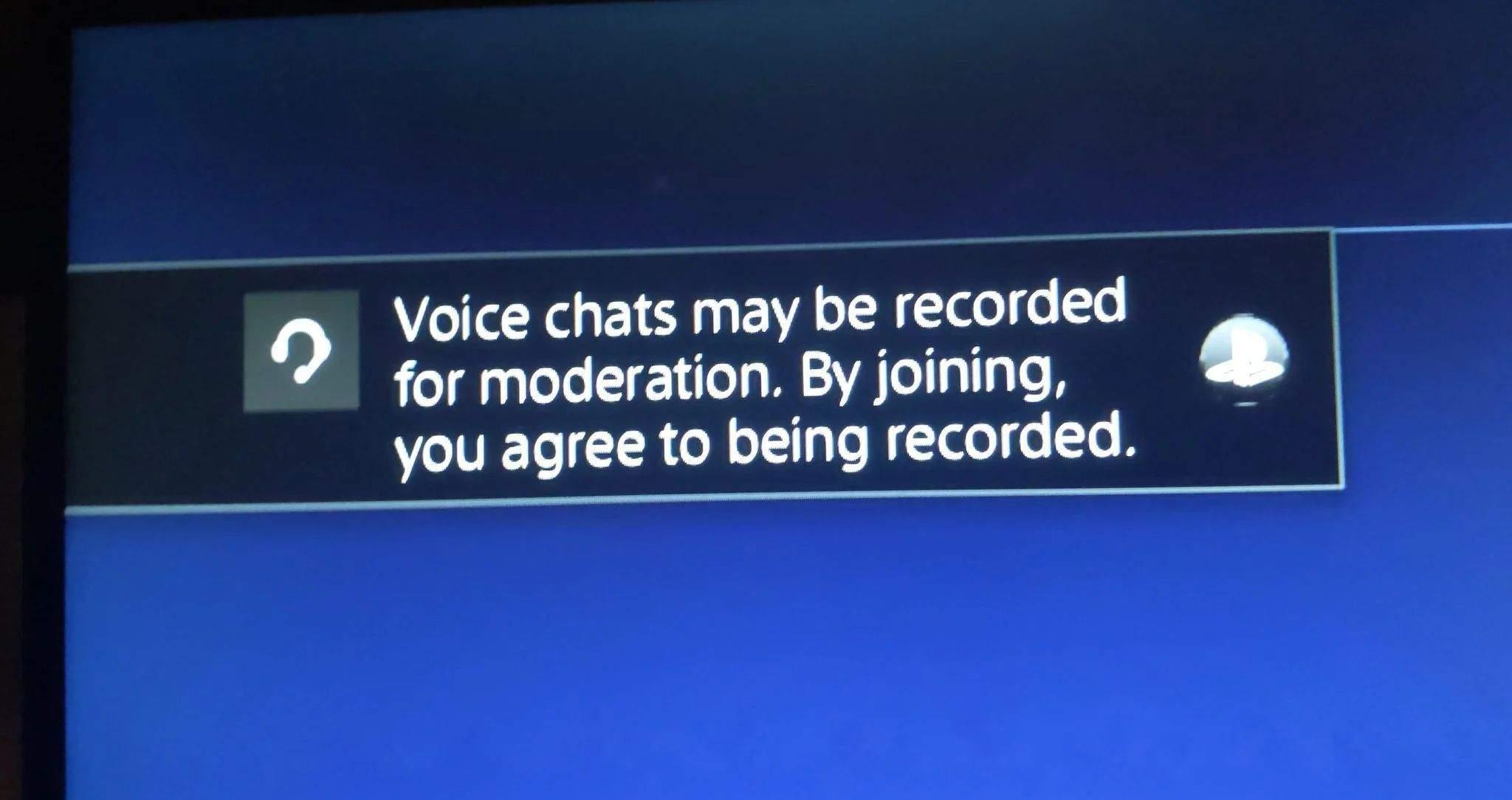 PlayStation 5, sesli sohbetleri kaydedecek