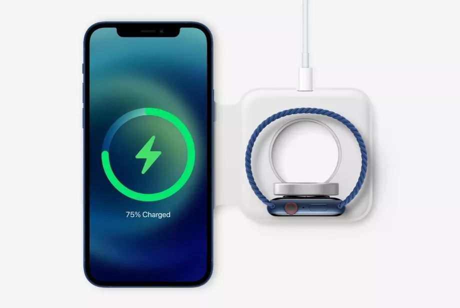 Apple iPhone 12 MagSafe çiftli kablosuz şarj