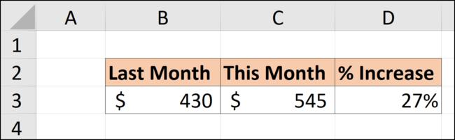 Excel ile yüzde artış hesaplama nasıl yapılır?