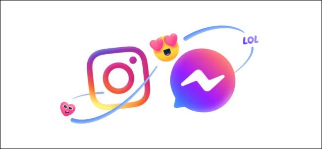 Instagram'dan Facebook arkadaşına mesaj gönderme