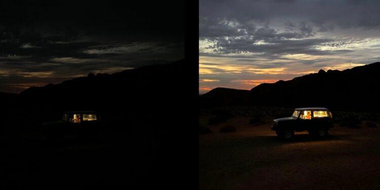 iPhone'da gece ve düşük ışıkta kaliteli fotoğraflar çekme