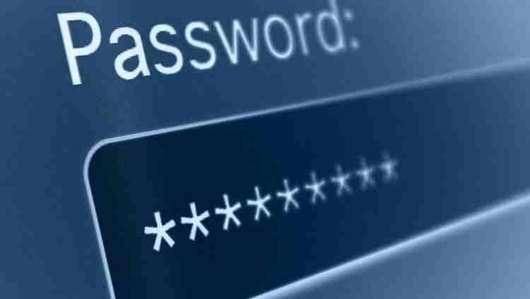 Siber güvenlik parola