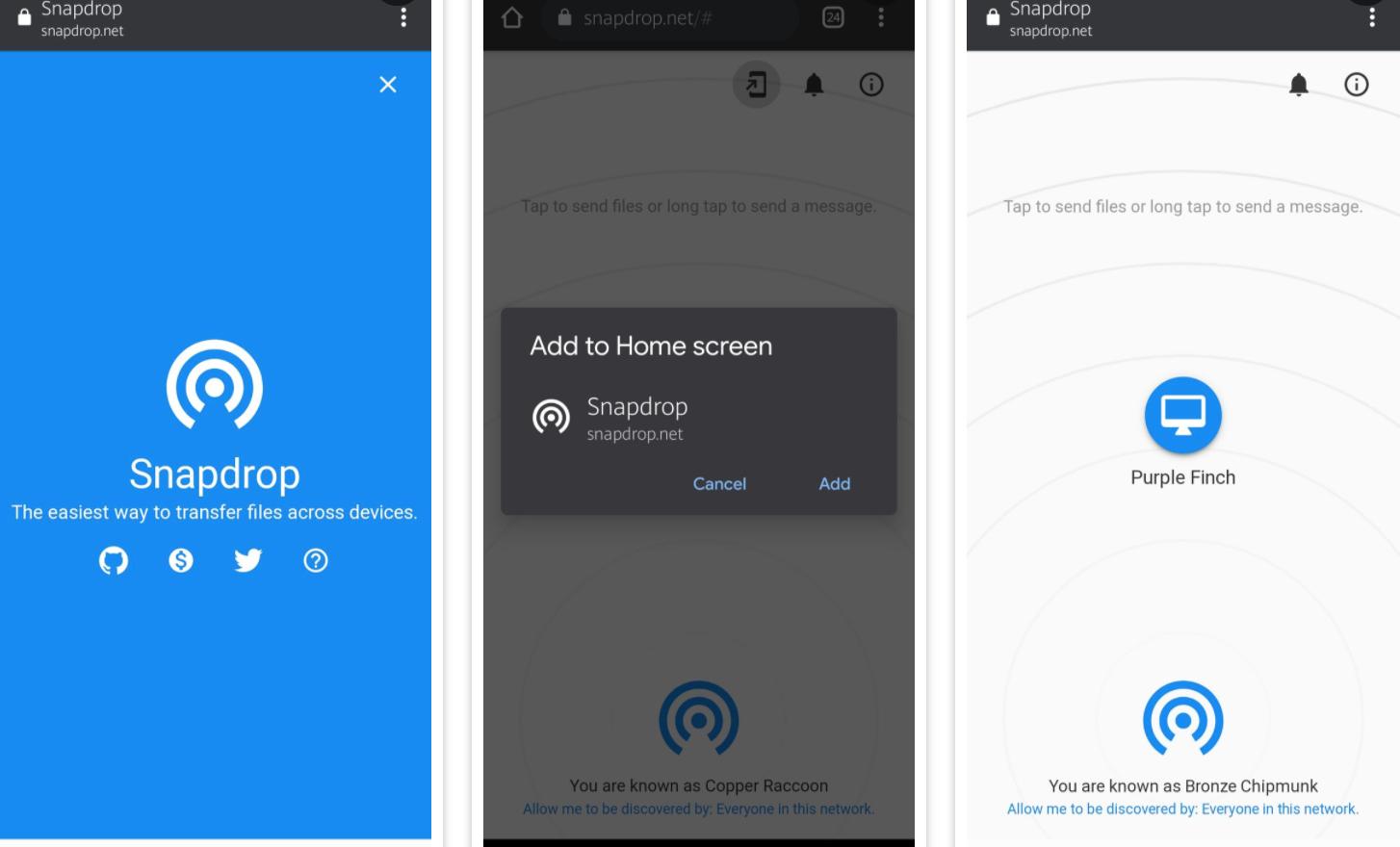 Android için en iyi AirDrop alternatifleri