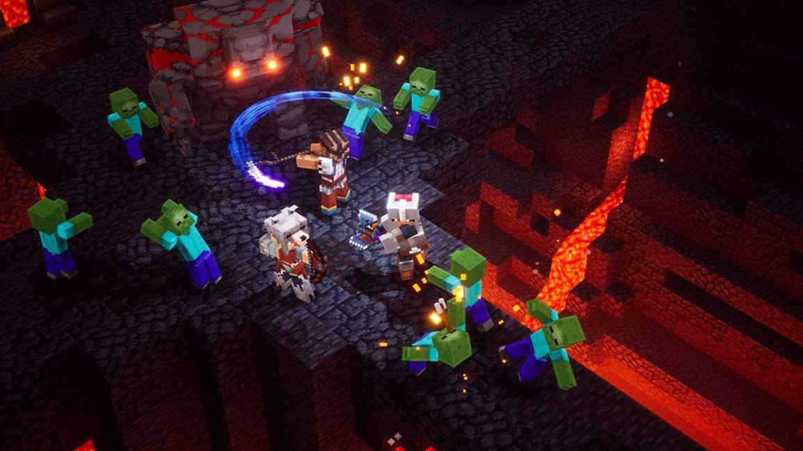 Minecraft Dungeons platformlar arası