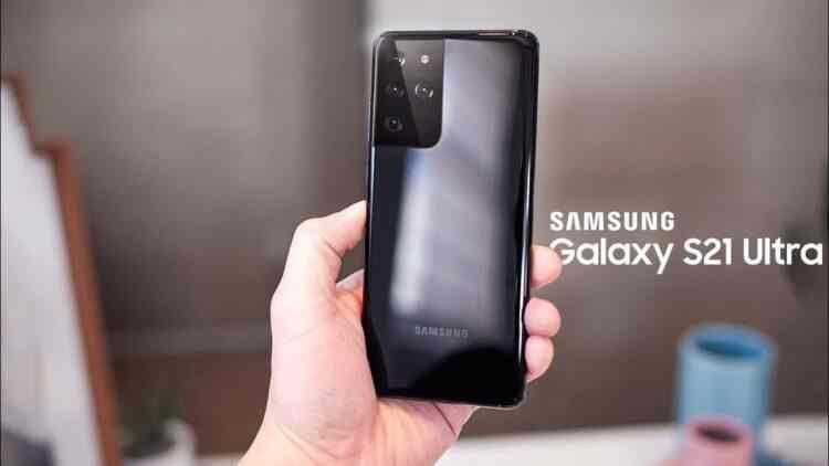 Galaxy S21 Ultra Özellik Sızıntısı Onaylandığı iddia edilen kutu içi sarj cihazı yok