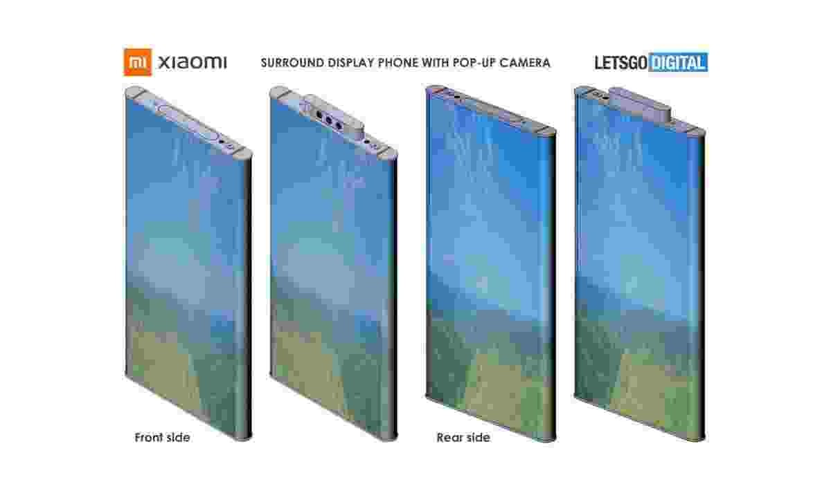 Xiaomi, surround ekrana ve açılır kameralara sahip bir akıllı telefon tasarımının patentini aldı