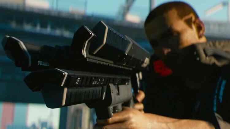 Cyberpunk 2077'de silaha dürbün ve susturucu ekleme