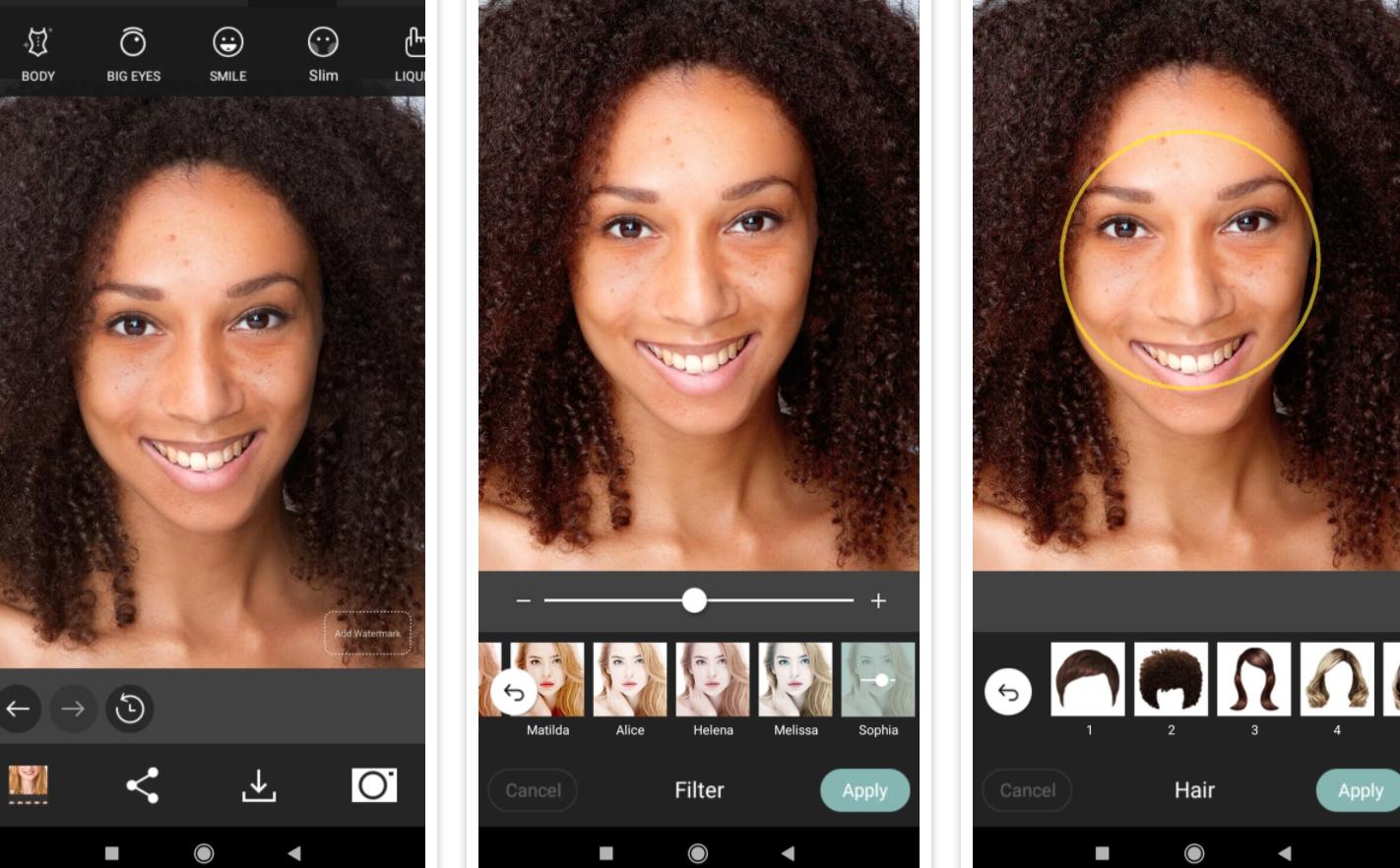 iOS ve Android telefonlar için en iyi yüz filtreleri ve efekt uygulamaları