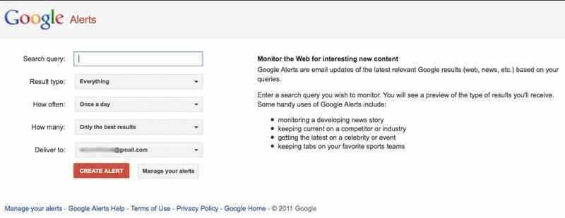 Google Alerts nedir, nasıl kullanılır ve kurulumu nasıl yapılır?