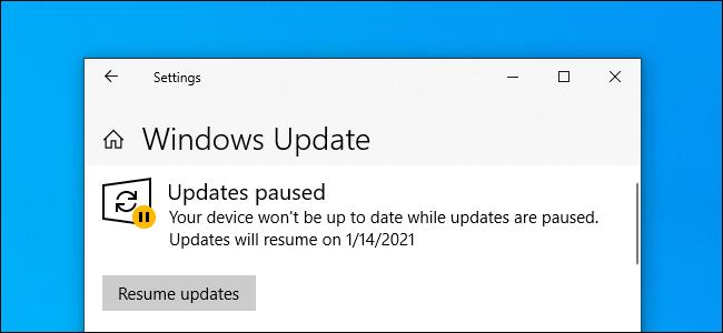 Windows 10'da güncellemeleri duraklatma [Nasıl Yapılır]