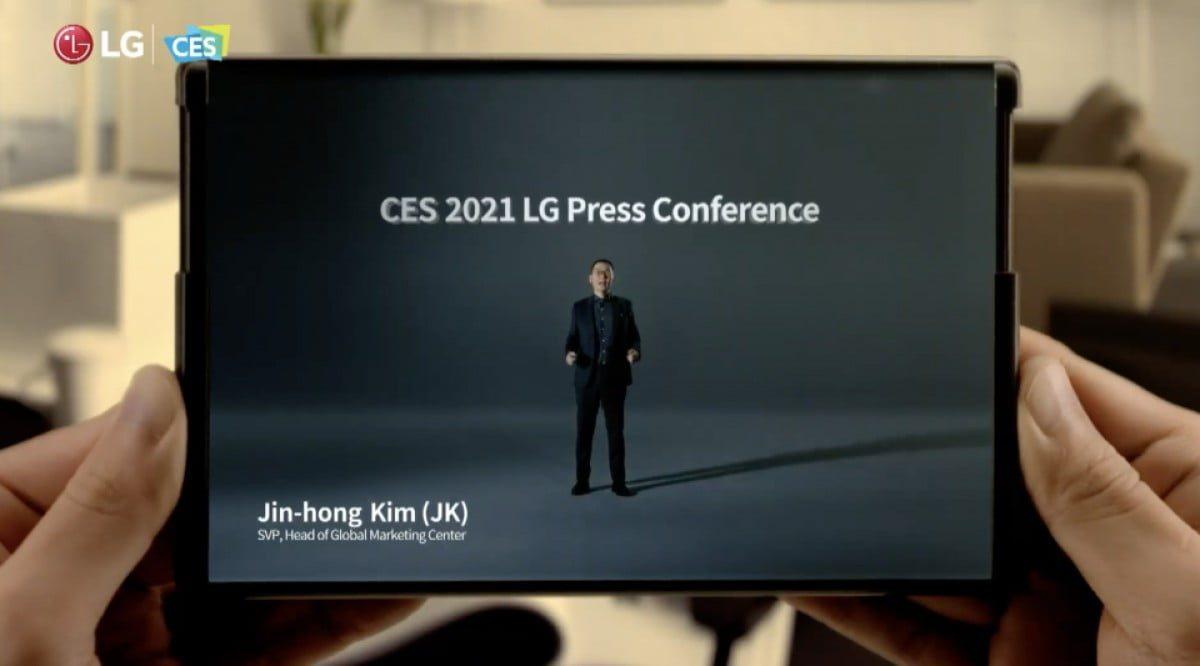 LG Rollable nihayet resmiyet kazandı: CES 2021'de tanıtıldı
