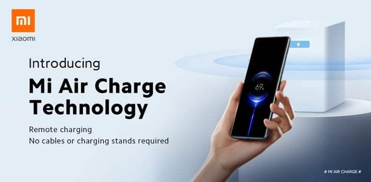 Xiaomi uzaktan kablosuz şarj özelliği Mi Air Charge tanıtıldı