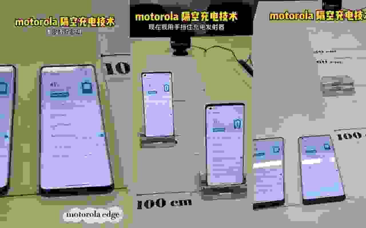 Motorola, yeni uzaktan kablosuz şarj teknolojisini sunuyor