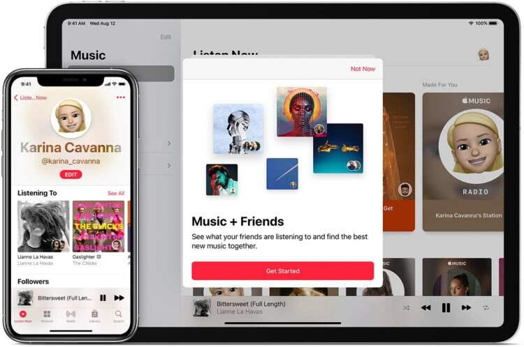 Apple Music'te çalma listesi oluşturma ve silme