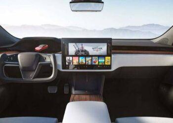 Tesla Model S 2021 konsolu PS5'ten daha güçlü olacakTesla Model S 2021, PS5'ten daha güçlü yerleşik bir konsol ile gelecek