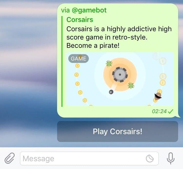 Telegram'daki en iyi oyunlar
