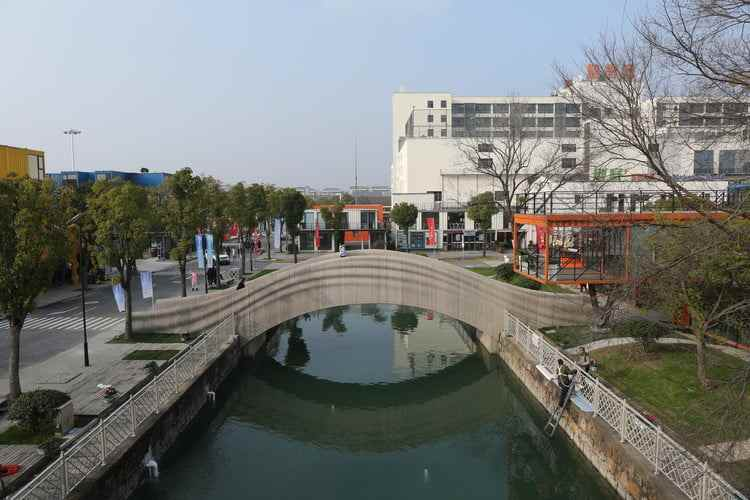Dünyanın en büyük 3D baskı köprüsü Çin'de