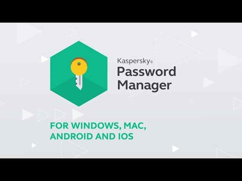 Android Kaspersky için en iyi ve en güvenli şifre yöneticileri