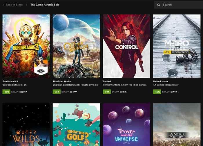 Epic Games, 2020'de 749 milyon ücretsiz oyun sundu
