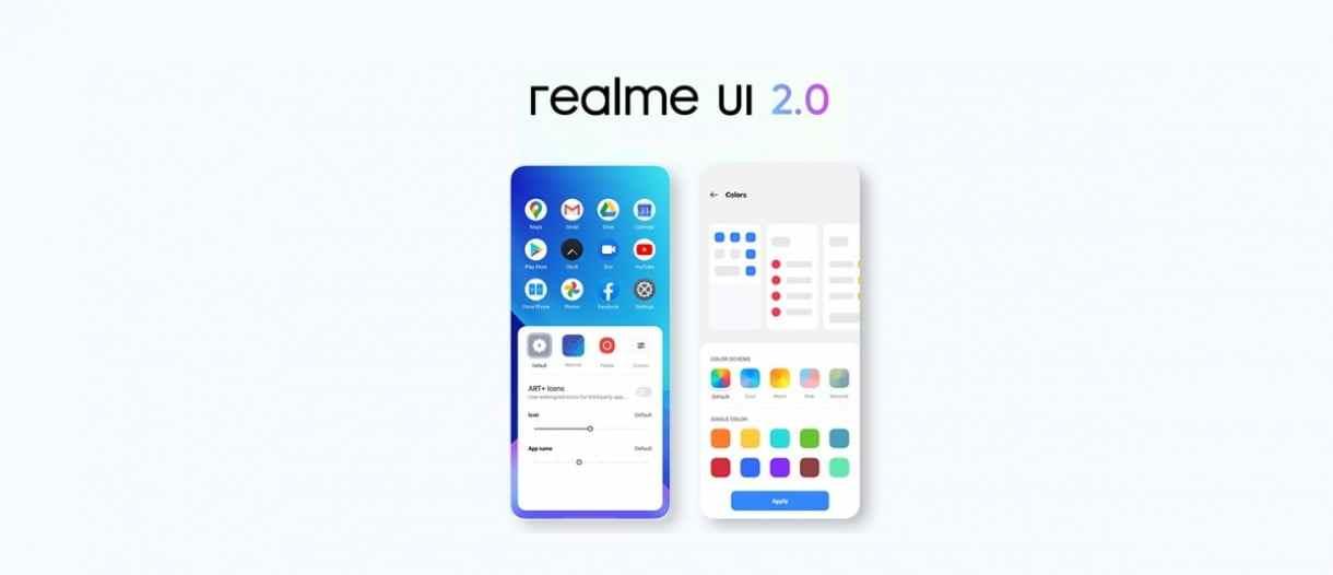 Realme UI 2.0 ile Android 11 güncellemesi alacak telefonlar