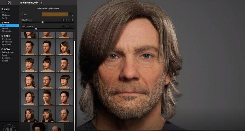 Unreal Engine'in yaratıcıları, dakikalar içinde fotogerçekçi avatarlar oluşturmak için bir web aracı olan MetaHuman Creator'ı sunar.