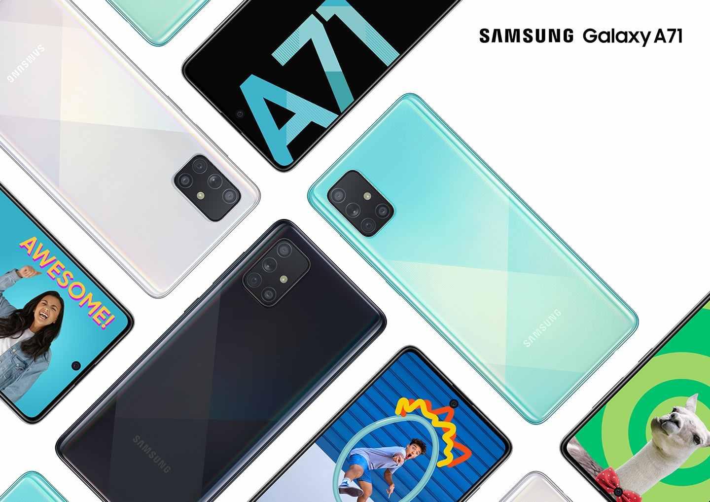 Samsung Galaxy A71 5G, One UI 3.0 ile Android 11'i alıyor