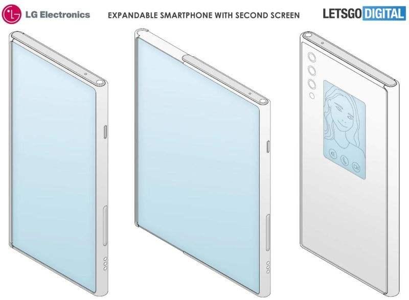 LG Rollable ikincil bir ekrana sahip olacak