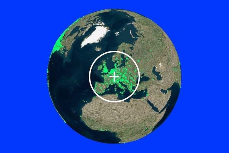 Radyo. Bahçe: Bu harita, dünyanın her yerinden canlı radyo istasyonlarını ücretsiz olarak dinlemenizi sağlar