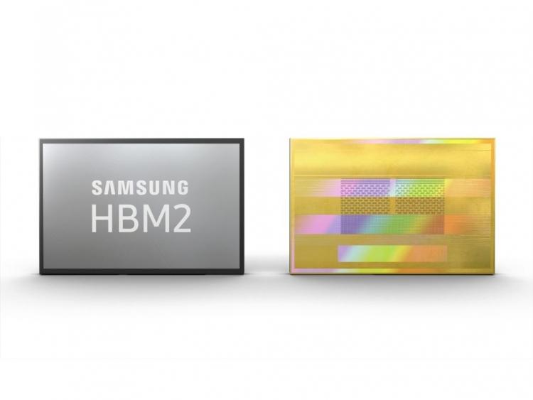 Samsung, AI işleme hızını artıran yeni bir HBM2 belleği duyurdu