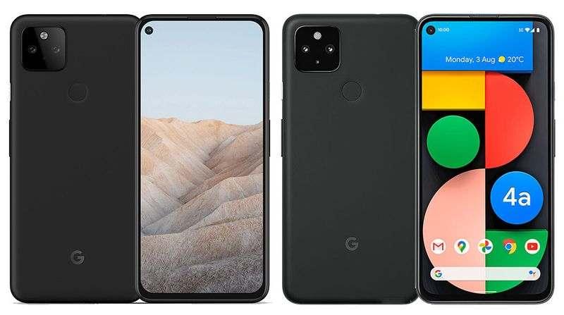 Bu, Google Pixel 5a'nın tasarımı olacak