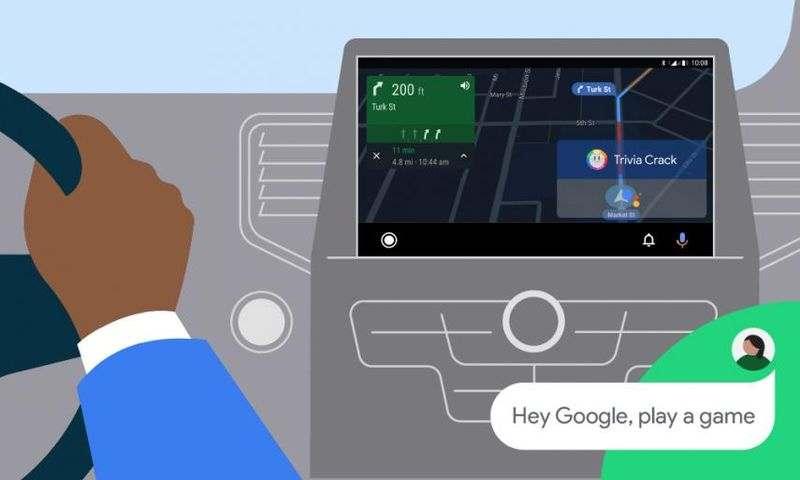 Artık Android Auto, uzun yolculuklarda keyfini çıkarmanız için size video oyunları getiriyor