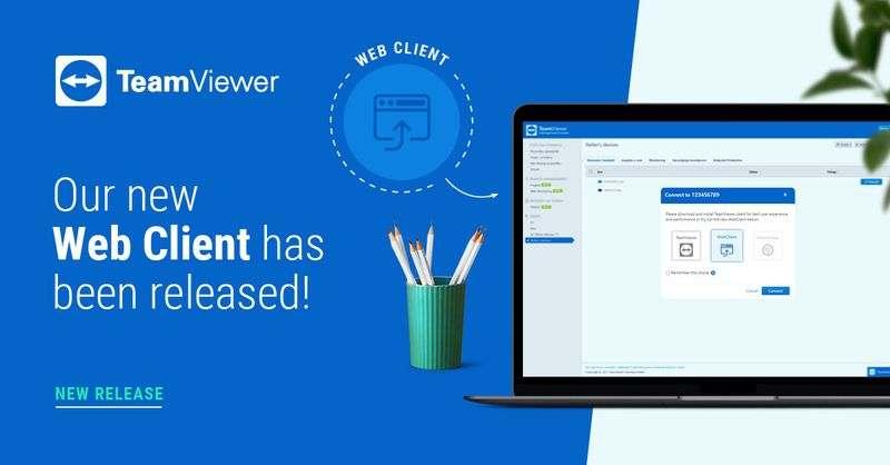 TeamViewer, tarayıcı aracılığıyla uzaktan erişim sunacak