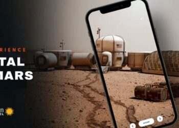 iPhone'da Artırılmış Gerçeklik ile Mars'ı keşfedin