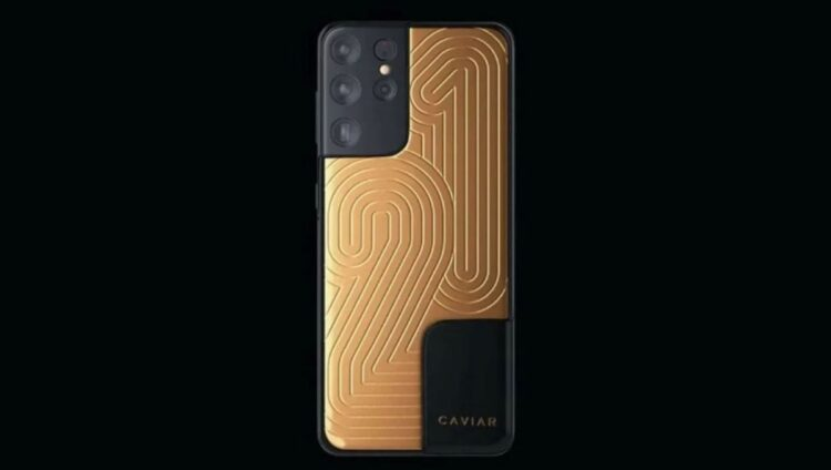 Altın kaplama Samsung Galaxy S21 Ultra, 70 bin dolarlık fiyatıyla satışta