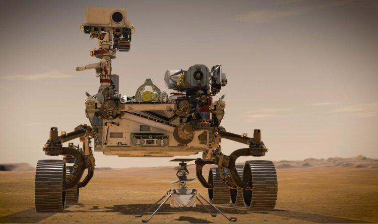 Perseverance Mars'tan ilk fotoğrafları gönderdi: Renkli ve yüksek çözünürlüklü Mars