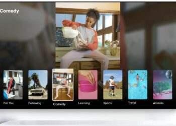 TikTok, Android TV uygulaması ile TV'lere geliyor